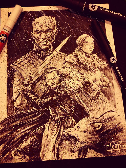 Game of Thrones - Original Ink