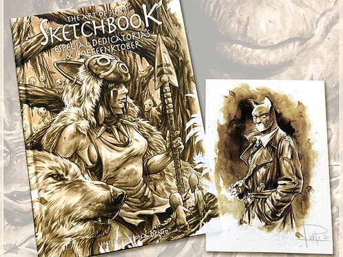 The art of Juapi - Sketchbook