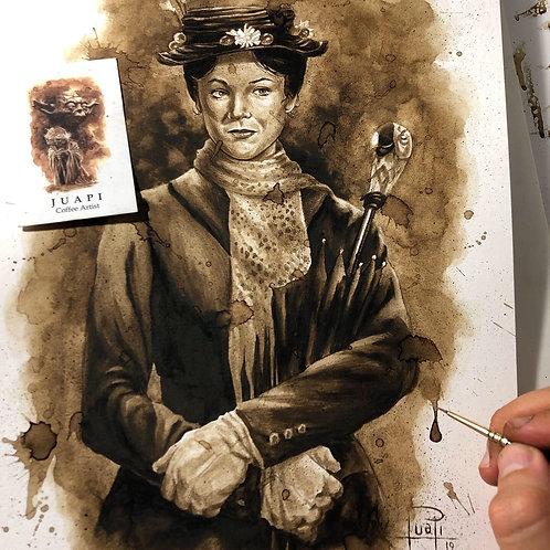 Mary Poppins-Coffee Art