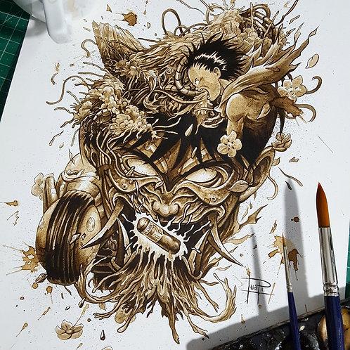 Akira - Original Coffee Art