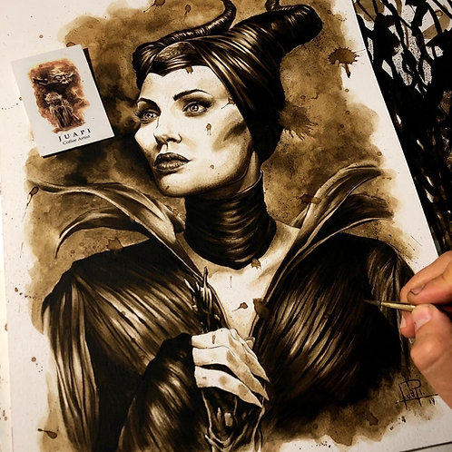 06. Coffee Art Print