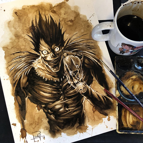 Ryuk-Coffee Art