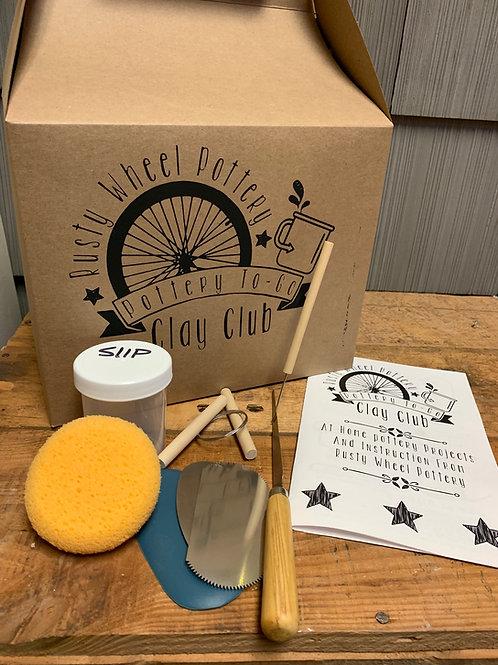To-Go Clay Club Takeout Box