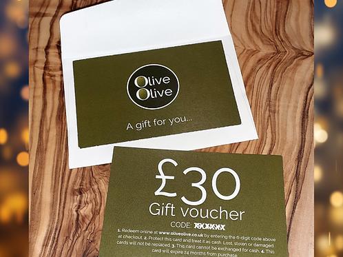 OliveOlive Gift Card