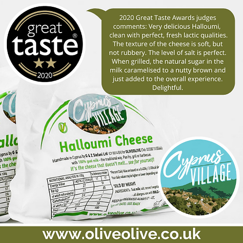 Cyprus Village Halloumi Cheese kilo pack