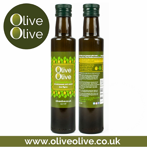 Basil Fused Olive Oil 250ml