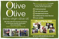OliveOlive extra virgin olive oil frm Cyprus