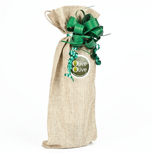 500ml OliveOlive in Jute Bag with Luxury Bow