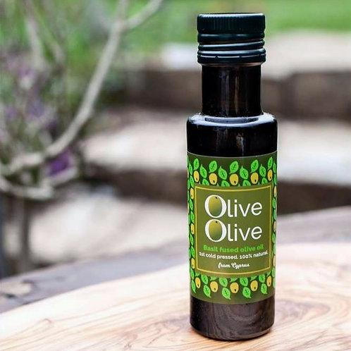 Basil/Chilli/Garlic Fused Olive Oil 100ml