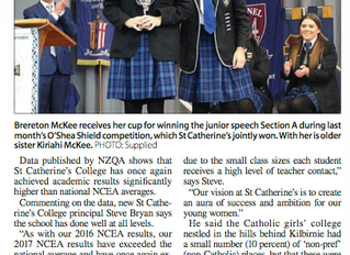 St Catherine's NCEA results well above average - Cook Strait News
