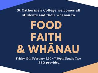 Food, Faith & Whānau 2019
