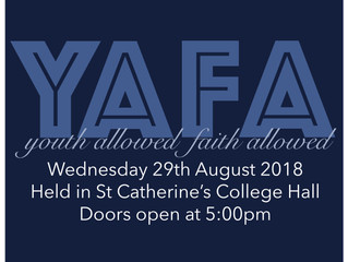 YAFA - Youth Allowed, Faith Aloud!