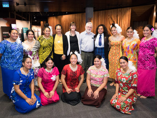 Samoan Language Week celebrations at the Alexander Turnbull Library.