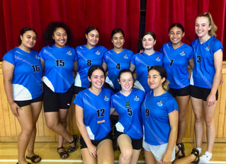 Senior Volleyball Team off to Nationals