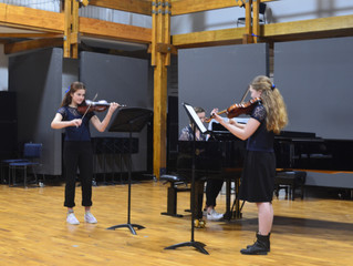 SCC Chamber Music Group in the Regional Chamber Music Contest