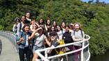 Level 2 Biology students at Zealandia.