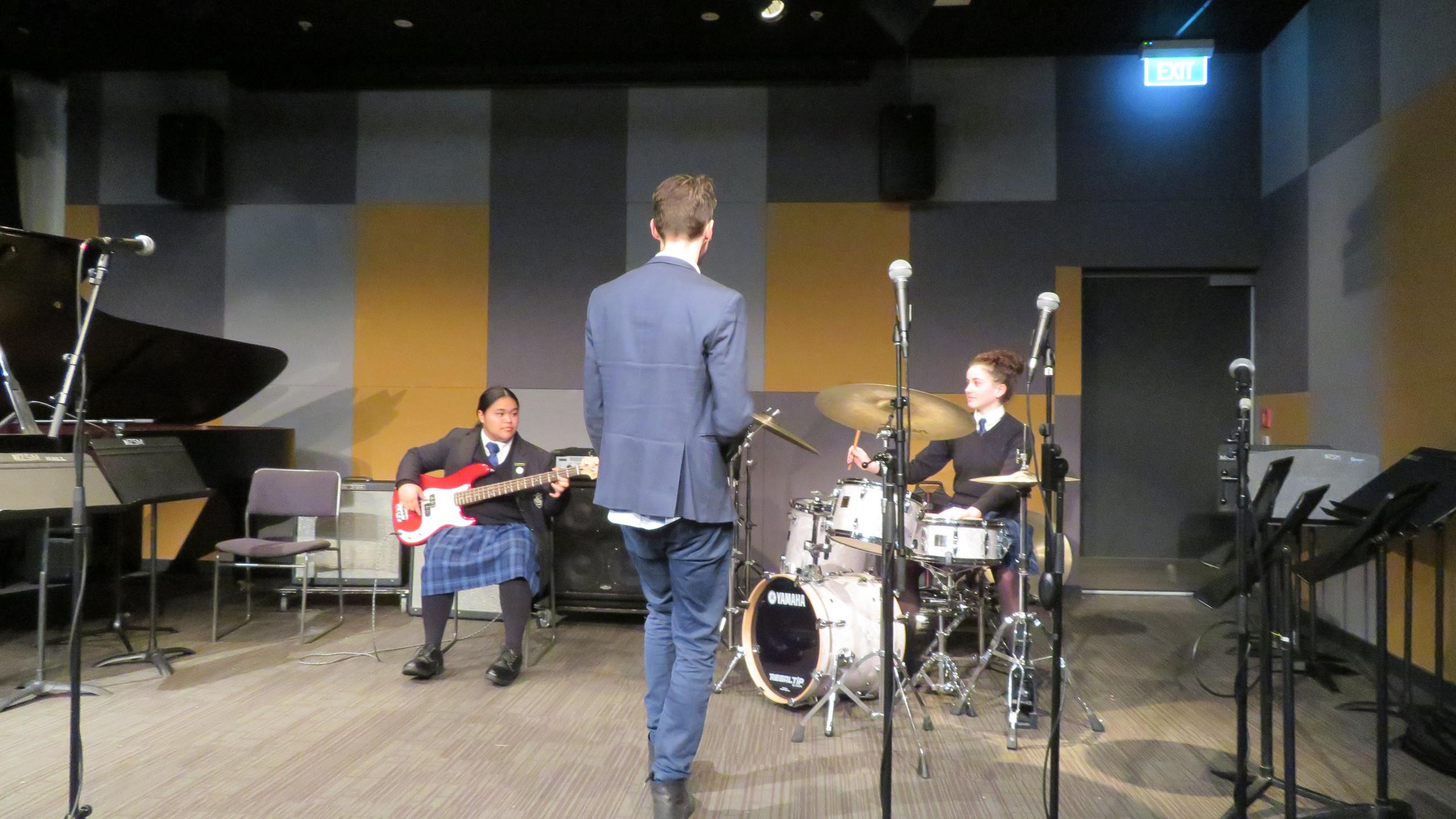 NZSM Jazz Workshopping