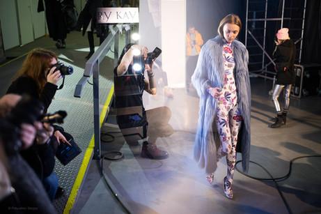 Backstage Ukrainian Fashion Week