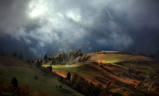 Autumn in the Carpathians