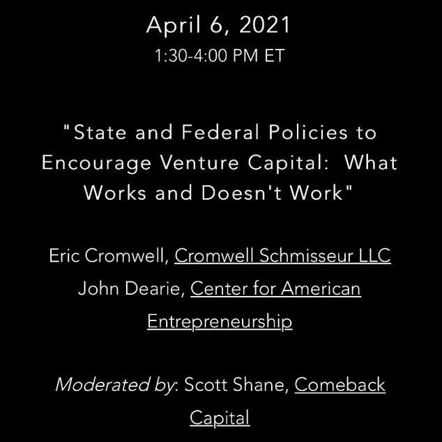 April 2021 - Panel Session