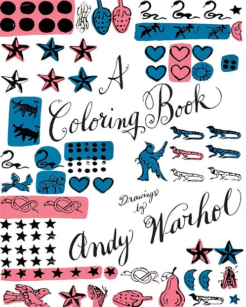 A Coloring Book, Drawings by Andy Warhol by