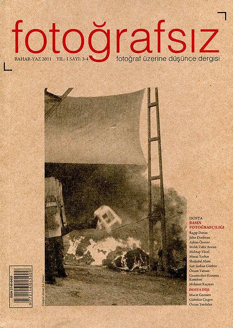 Fotoğrafsız Dergisi Sayı #3-4