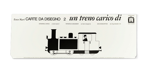 Carte da Disegno: Un Treno Carico by Enzo Mari