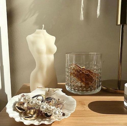 Soy Wax Body Candle (White) by Body Candles - Sıla Aşık