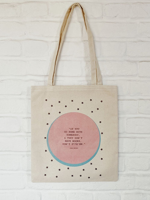FiLBooks Tote Bag - Pink