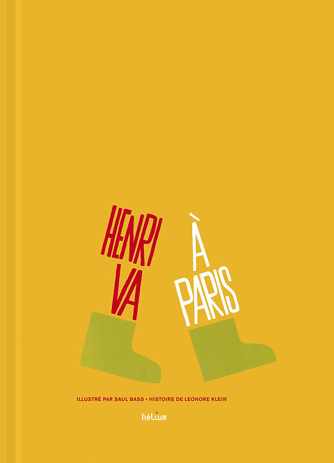 Henri va à Paris by Saul Bass