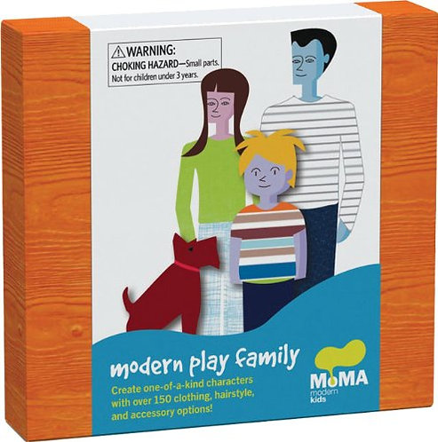 Modern Play Family by MoMA