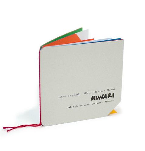 Libro Illeggible MN 1 by Bruno Munari