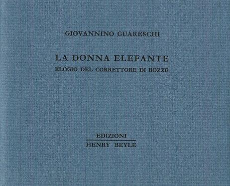 La Donna Elefante by Giovanni Guareschi