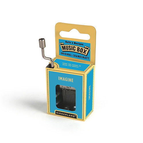 Imagine Crank Music Box by Kikkerland
