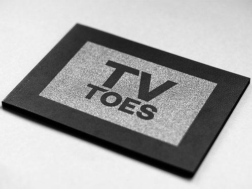 TV Toes by Gijs van den Berg
