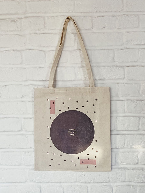 FiLBooks Tote Bag - Gray