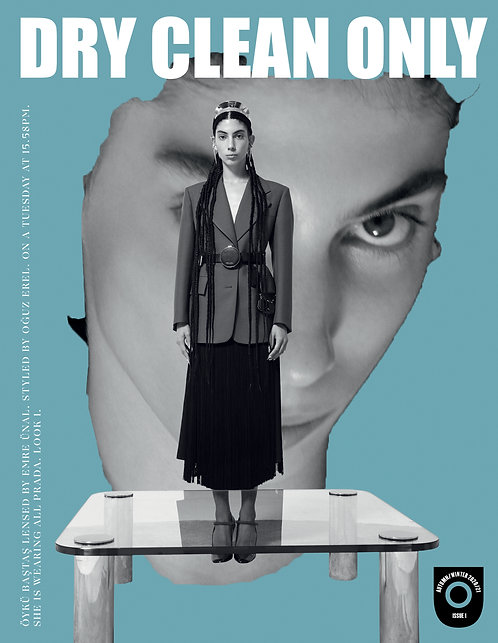 Dry Clean Only Magazine Issue #1 Cover #1 (Turkey)