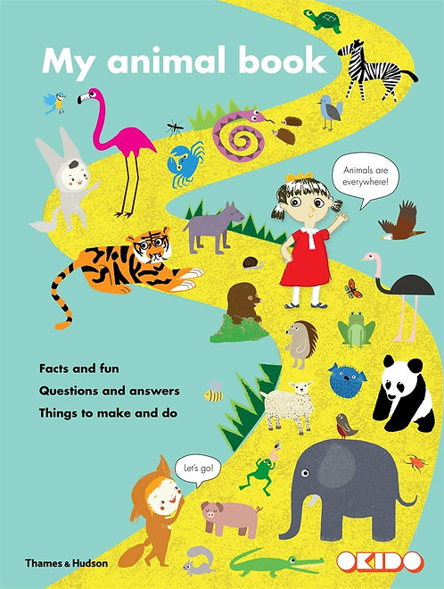 My Animal Book: Facts and Fun, Questions (...) by Sophie Dauvois & Alex Barrow