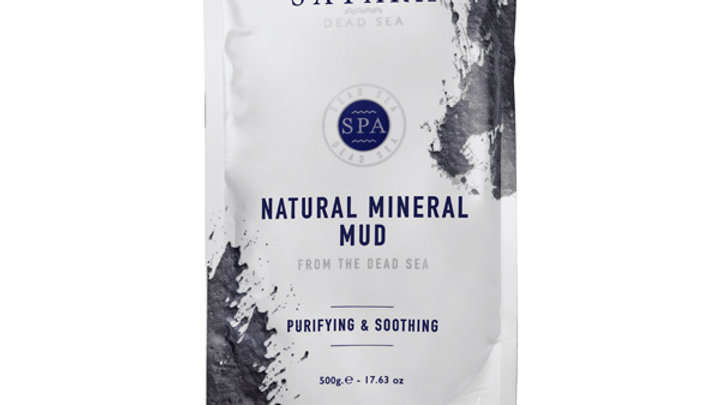 MINERAL BLACK MUD for FACE & BODY