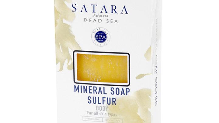 MINERAL SULFUR BODY SOAP for Oily Skin