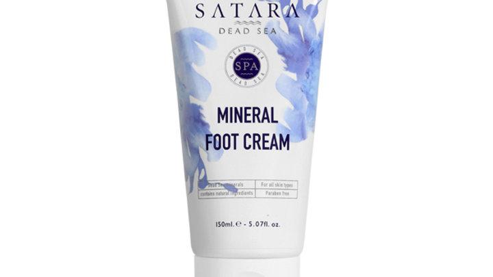 MINERAL FOOT CREAM- Satara Dead Sea