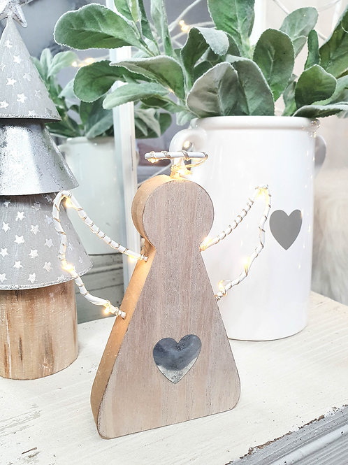 Angel LED Decoration With Heart