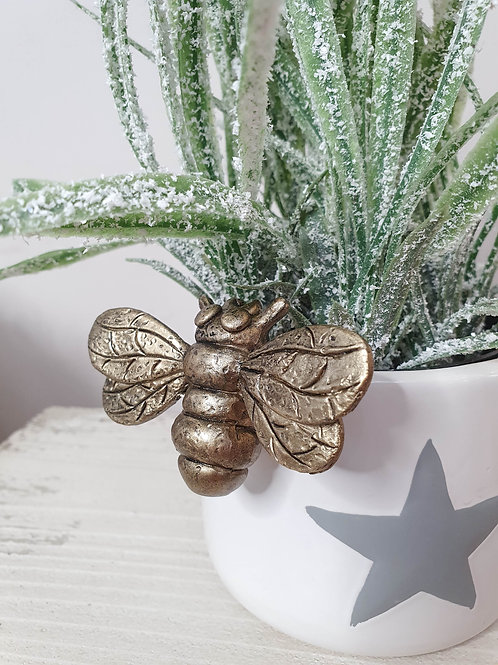 Mini Bee Hanging Pot Decoration