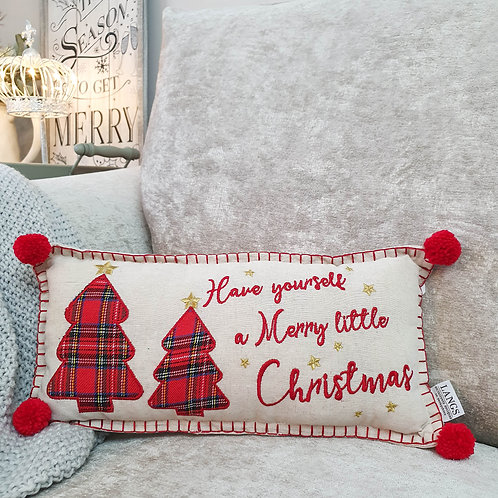 Merry Little Christmas Cushion