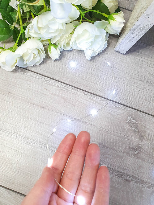 Cool White LED Wire Light