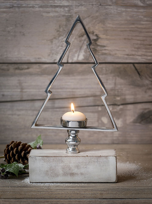 Standing Tree Shaped Candle Holder