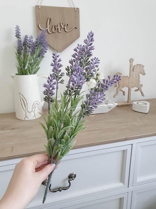 Artificial Lavender Sprig Bunch