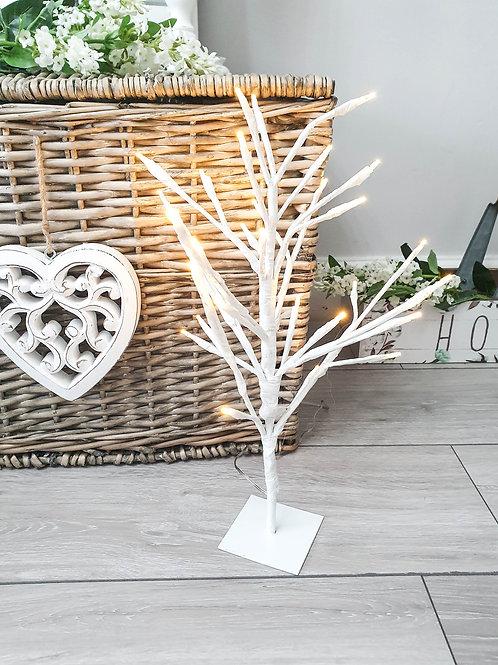 White LED Light Up Decorative Tree