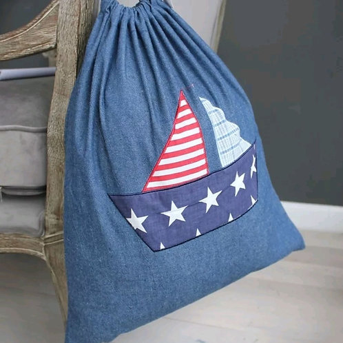 Nordic Star Childrens Toy/Laundry Bag