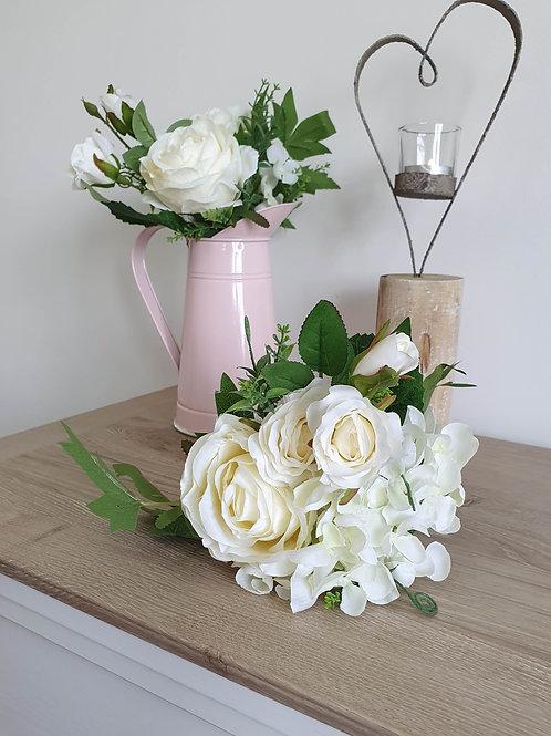 Mixed Faux Floral Bouquet